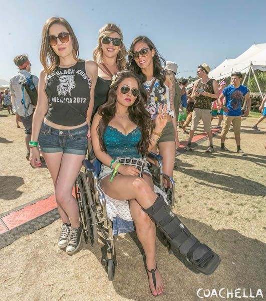 Девушки с фестиваля Coachella 2013 (59 фото)