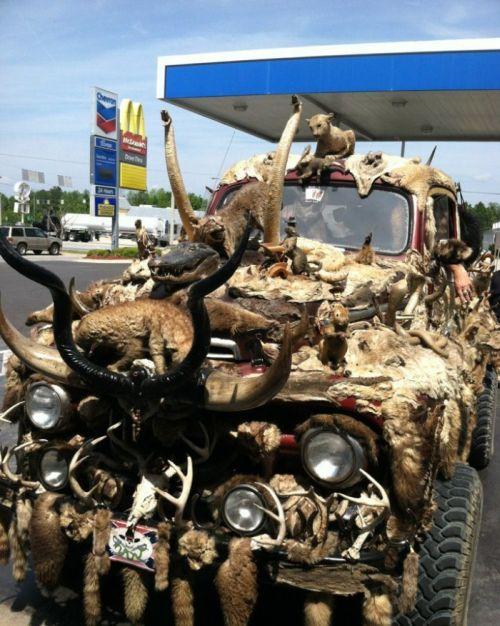 Подборка автомобильных приколов.  (35 фото)