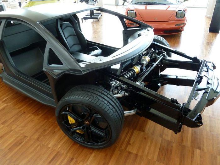 Музей итальянских суперкаров Lamborghini (101 фото)