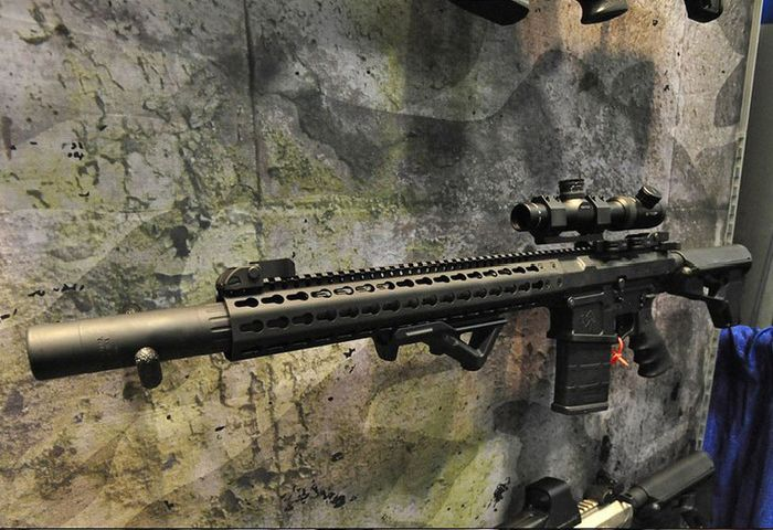 Выставка оружия Airsoft Shot Show 2013 в Лас-Вегасе (71 фото)
