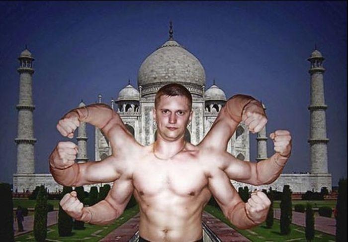 """Шедевры"" фотошопа (73 фото)"