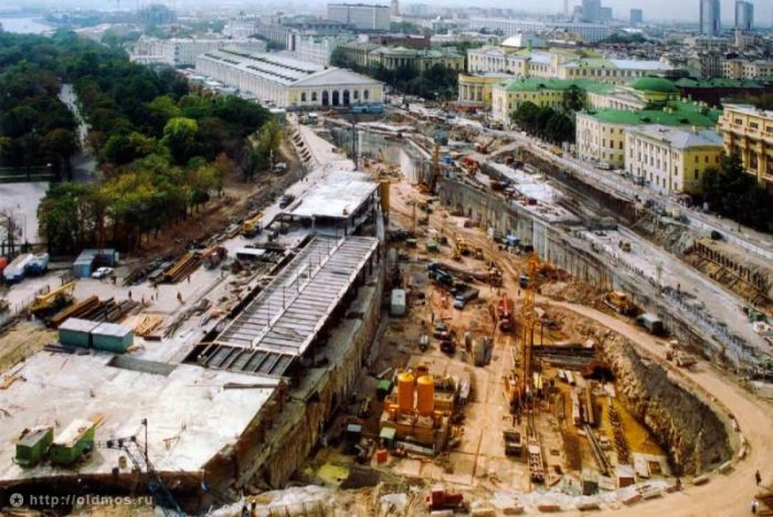 Столица нашей страны в 90-х годах прошлого века (106 фото)
