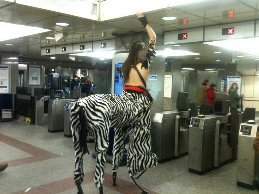 Фрики в общественном транспорте