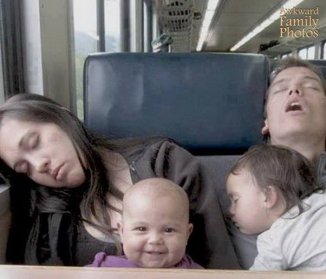 Необычные семейные фотографии