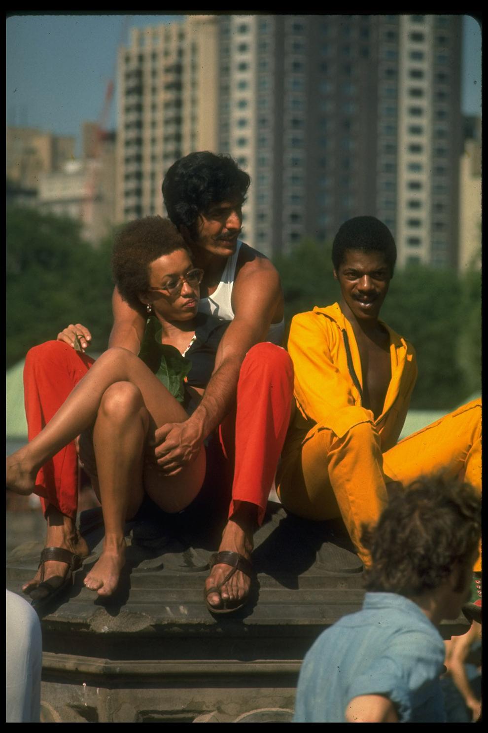 Нью-Йорк 1969-го в цвете