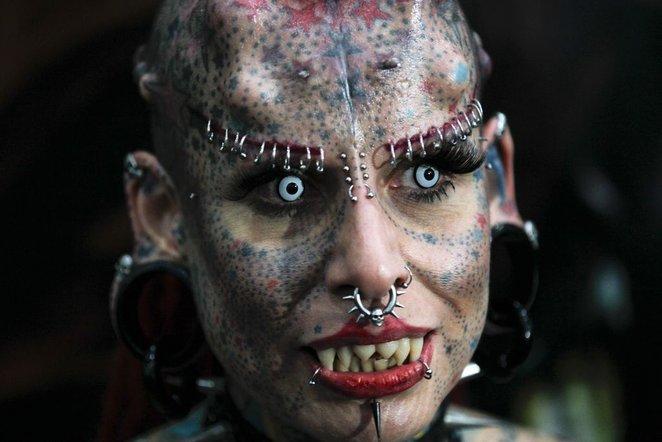 Самые страшные и ужасные девушки со всего мира.