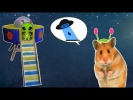 DIY Hamster toy UFO -  Spaceship for hamster DIY